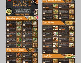 #26 untuk Create a B4 takeaway flyer from my menu provided oleh raiyansohan777