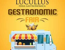 Nro 15 kilpailuun Gastronomic Fair poster design käyttäjältä petersamajay