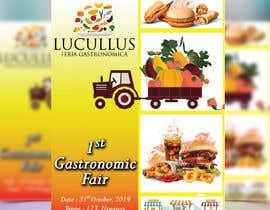 Nro 1 kilpailuun Gastronomic Fair poster design käyttäjältä plabonpalmer31