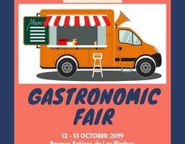 Nro 21 kilpailuun Gastronomic Fair poster design käyttäjältä nursyasyaizzati