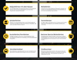 #44 cho Design Taxi Website Mockup bởi JuanRivasDesign