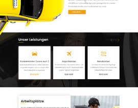 #32 cho Design Taxi Website Mockup bởi Baljeetsingh8551