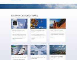 #26 for updated design for existing website af TilokPaul