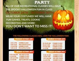 #41 for Halloween Party Flier by ashswa