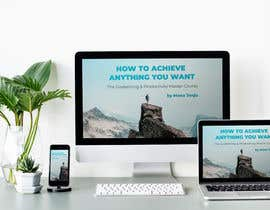"AnyaTea tarafından Product Cover Design for Online Course ""How to Achieve Anything You Want - The Goalsetting & Productivity Master Course"" için no 18"