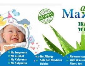 #12 cho Designing of Hand wash sticker and Baby's wet tissue packaging. bởi vinifpriya