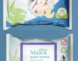 #19 cho Designing of Hand wash sticker and Baby's wet tissue packaging. bởi subrinarupa