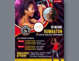 #39 untuk flyer design for a dance workshop event oleh Pictorialtech