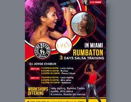 Nro 39 kilpailuun flyer design for a dance workshop event käyttäjältä Pictorialtech