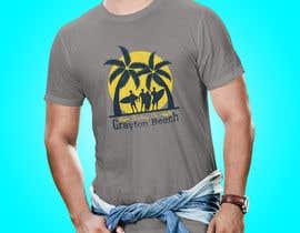 Sha7en tarafından Create coastal/nautical/vintage souvenir beach t-shirt style design for use on t-shirt and logo for website için no 54