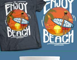 #39 cho Create coastal/nautical/vintage souvenir beach t-shirt style design for use on t-shirt and logo for website bởi luisdraw