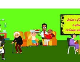 Nro 3 kilpailuun Senior Living Cartoon/Caricature characters. käyttäjältä ajrabby