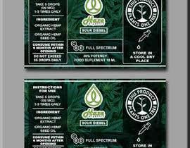 #23 for Packaging changes CBD bottle af liakatlaiz
