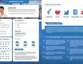 #167 pentru Graphic design for Executive Bio and Resume de către aliffitra