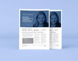 #196 pentru Graphic design for Executive Bio and Resume de către parthashyam