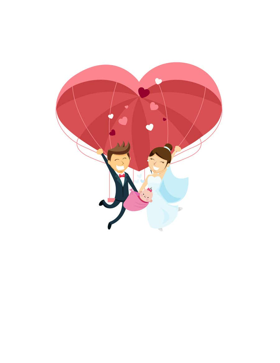 Proposition n°                                        13                                      du concours                                         Logo pour faire-part de mariage et de naissance