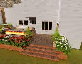 #19 для Design the deck for this house. от KayKiyo
