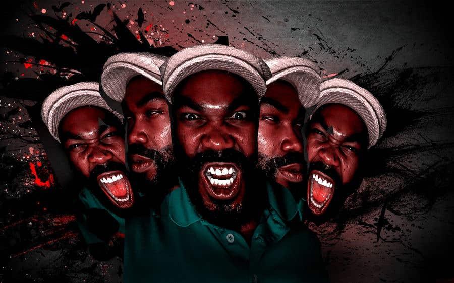 Penyertaan Peraduan #1 untuk Recreate image with my many faces.