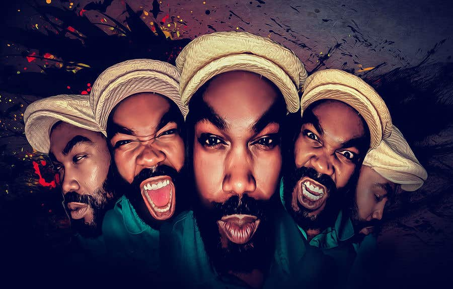 Penyertaan Peraduan #14 untuk Recreate image with my many faces.
