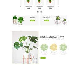#17 for Create website mockup design for plant nursery Nursery by mdpanna1