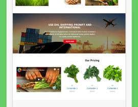 #3 for Create website mockup design for plant nursery Nursery af sharifkaiser