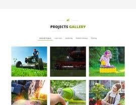 #13 for Create website mockup design for plant nursery Nursery by jansiitech