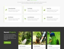 #15 untuk Create website mockup design for plant nursery Nursery oleh jansiitech