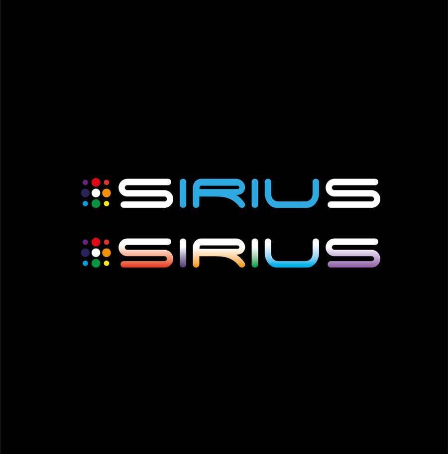 Kilpailutyö #1704 kilpailussa New Logo :   SIRIUS
