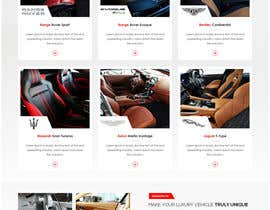 Nro 34 kilpailuun Home page design for Leather Car Interiors website käyttäjältä jitp