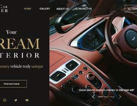 Nro 88 kilpailuun Home page design for Leather Car Interiors website käyttäjältä shosharabi