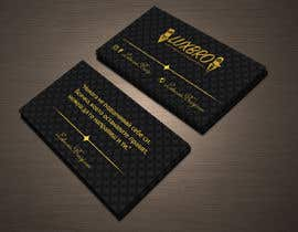#37 for Luxury Black and Gold Business Card Design for Jewelry website af shiblee10