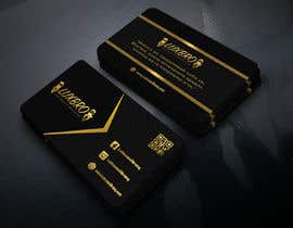 #53 for Luxury Black and Gold Business Card Design for Jewelry website af GraphicsArif