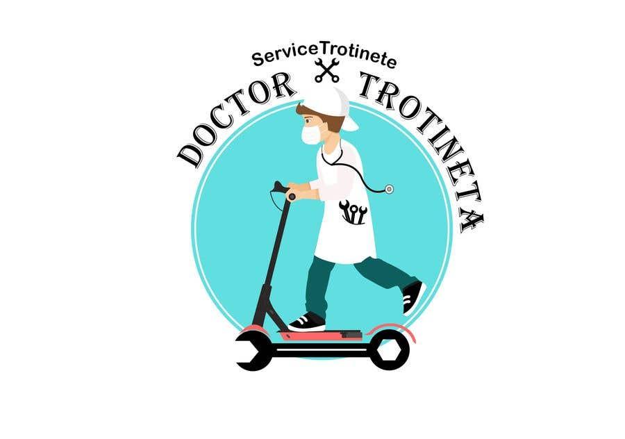 Kilpailutyö #29 kilpailussa NEW Logo for electric scooter repair shop