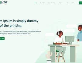 Nro 15 kilpailuun Homepage of a website käyttäjältä pankajsh973