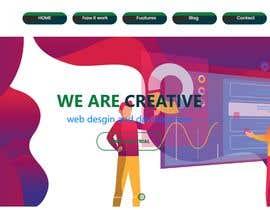 Nro 40 kilpailuun Homepage of a website käyttäjältä mobashirkhan1998