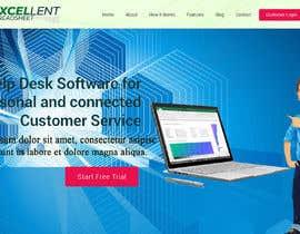 Nro 36 kilpailuun Homepage of a website käyttäjältä FreelancerRiaz74