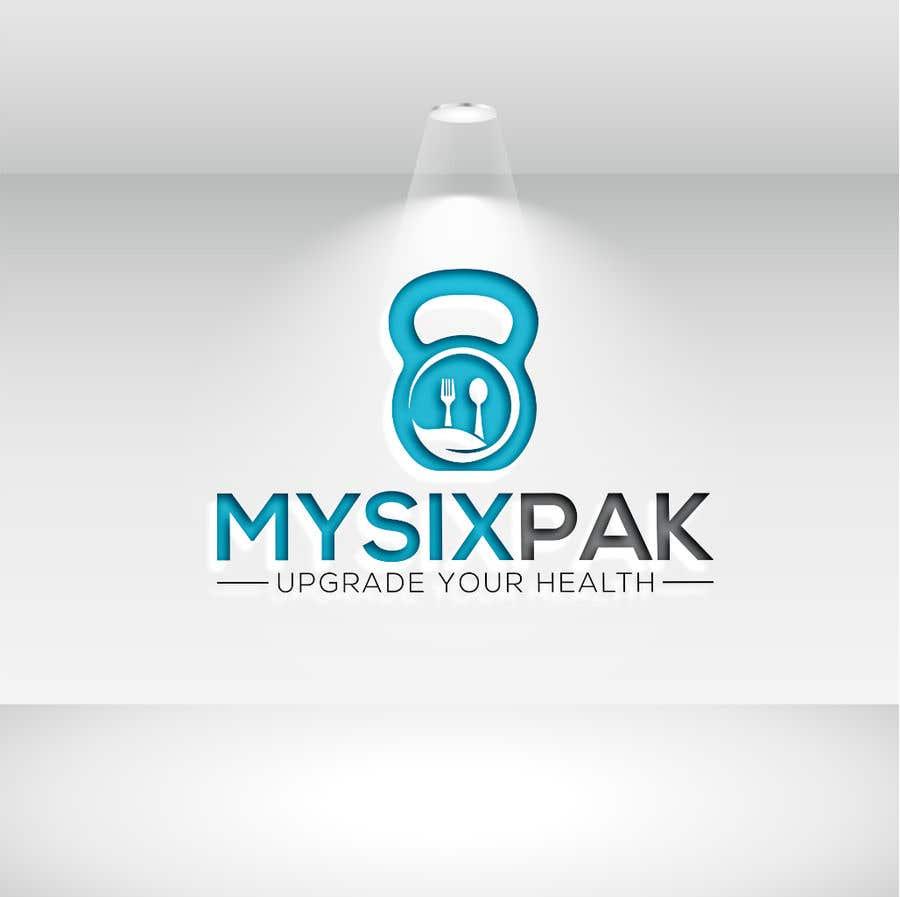 Penyertaan Peraduan #44 untuk Logo Refresh - MySixPak