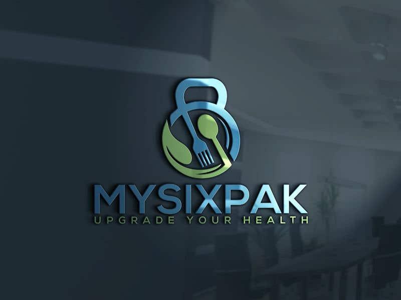 Penyertaan Peraduan #91 untuk Logo Refresh - MySixPak