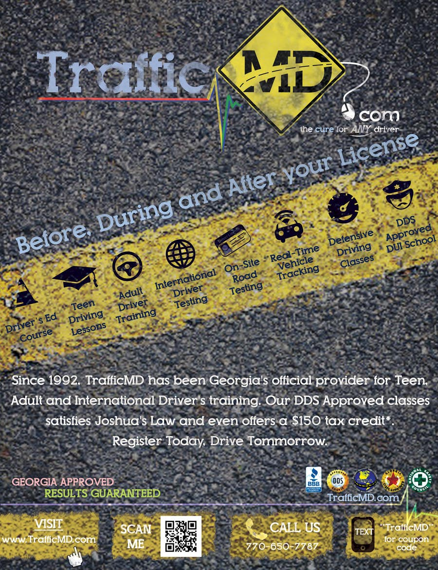 #20 for Advertisement Design for TrafficMD.com Magazine Ad - Full Page Color by krizdeocampo0913