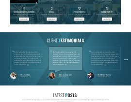 #14 for Design home page for digital marketing agency in psd by saidesigner87