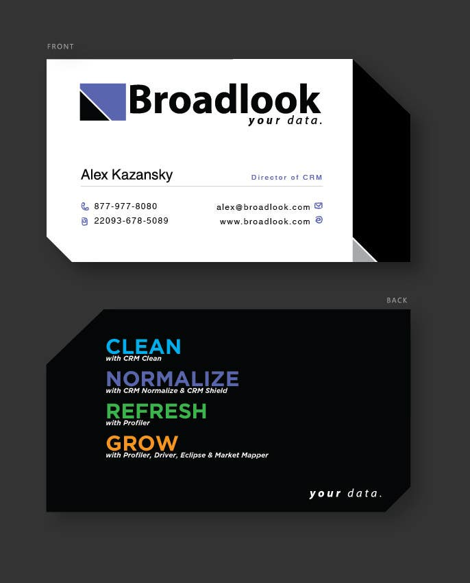 #42 for Business Card Design for a Technology Company by frantzmaryus