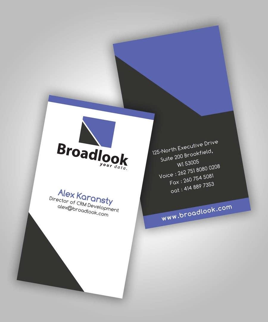 Inscrição nº 36 do Concurso para Business Card Design for a Technology Company