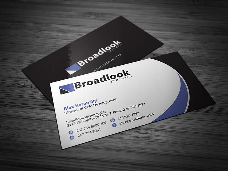 Entry #20 by Brandwar for Business Card Design for a Technology ...