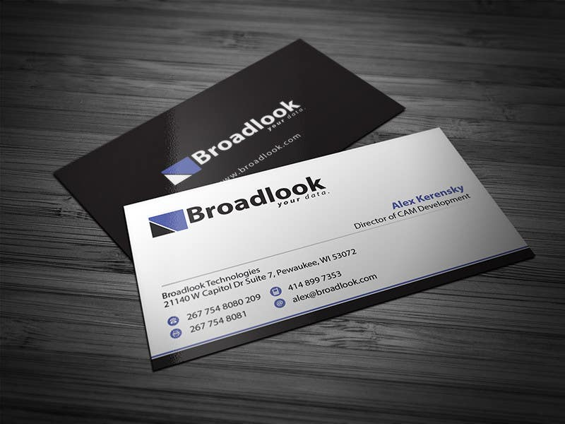 #23 for Business Card Design for a Technology Company by Brandwar