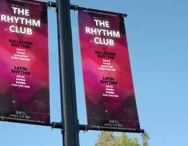 #5 cho Design a Flag Banner for a dance studio called The Rhythm Club bởi denisbogdan13
