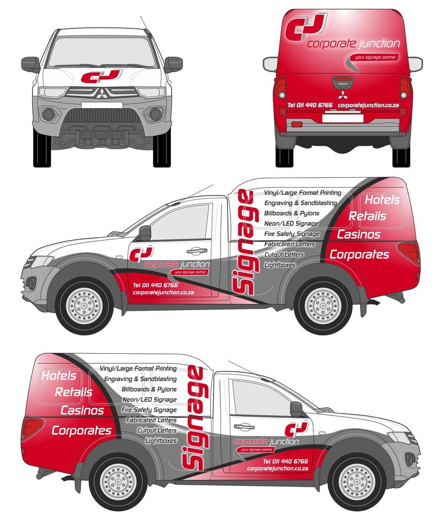 Proposition n°                                        12                                      du concours                                         I need some Graphic Design for vehicle