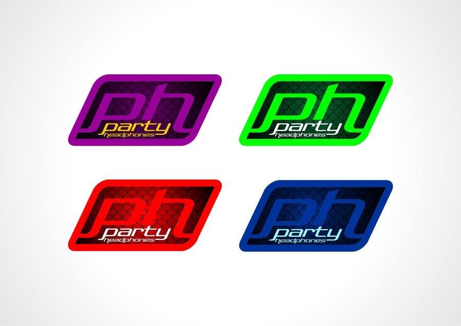 Inscrição nº 135 do Concurso para Logo Design for Party Headphones