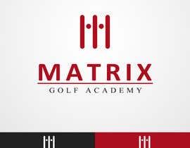 #111 para Matrix Golf Academy logo design por nitinkapoor