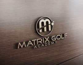 #147 para Matrix Golf Academy logo design por ZahidAkash009