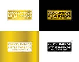 #174 cho KNUCKLEHEADS LITTLE THREADS logo bởi habiburhr7777